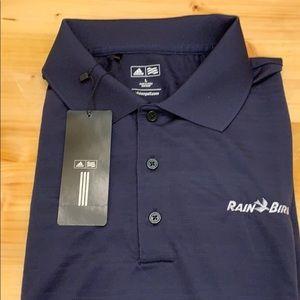 Adidas golf shirt. BNWT. Navy blue. Size L